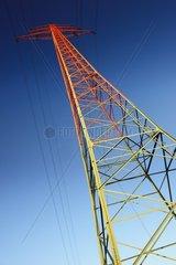 Hochspannungsmast  Netzausbau  Energiewende