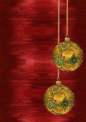 Christbaumkugel Christmas tree bauble Serie