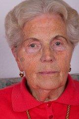 Die Zeichen des Alters im Gesicht