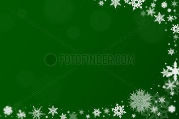 Hintergrund mit Schnee zu Weihnachten
