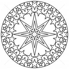 Ornament Sterne Schneekristall stars snow crystal snowflake 2