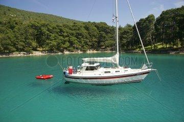 Kroatien  Kvarner  Insel Losinj  Bucht Krivica