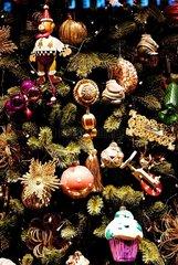 Reich Dekorierter Weihnachtsbaum
