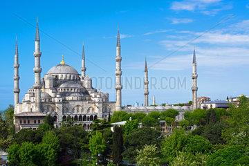Blaue Moschee bei Tag