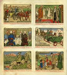Prinzregent Luitpold von Bayern  Reklamemarken  1912