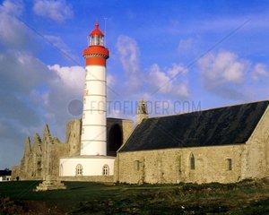 Leuchtturm Pointe de Saint Mathieu  France