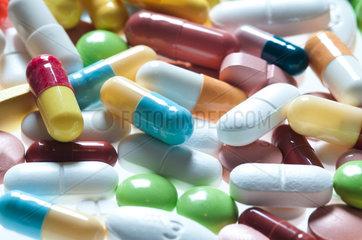 Medikamenten-Sammlung