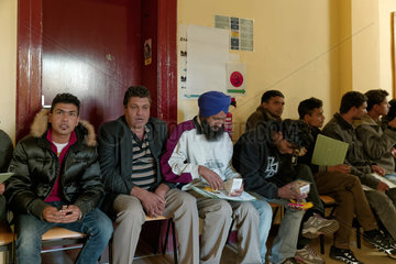 Berlin  Deutschland  Registrierung von Fluechtlingen