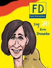 Freie Dromedare
