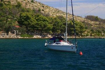 Kroatien  Kornaten  Insel Dugi Otok  Bucht Teleascica
