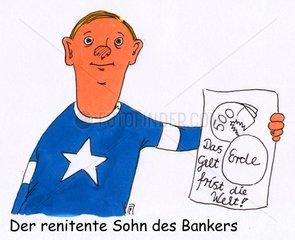 Sohn des Bankers