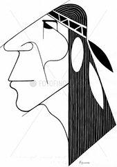 Indianer s/w