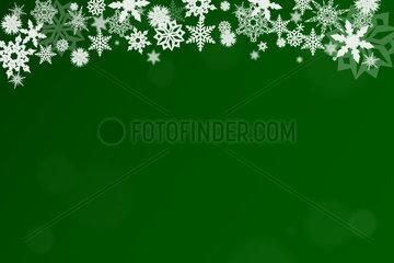 Weihnachten Hintergrund in gruen