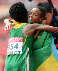 (SP)CHINA-BEIJING-IAAF WORLD CHAMPIONSHIPS-WOMEN'S MARATHON FINAL(CN)