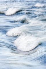 Wellen  Piteaelven  Lappland