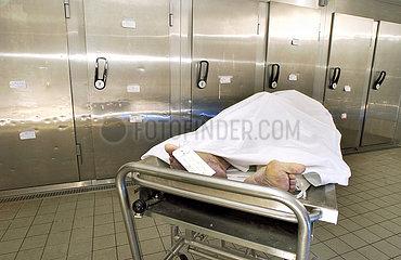 Leiche in der Pathologie