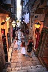 Kroatien  Sued-Dalmatien  Altstadt Dubrovnik