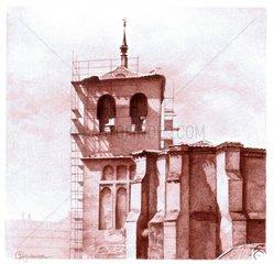 Church in restoration