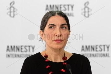 Berlin  Deutschland  Selmin Caliskan  Generalsekretaerin von Amnesty International