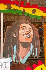 Coffee-Shop  Bob Marley  Amsterdam  Holland  Niederlande  Europa