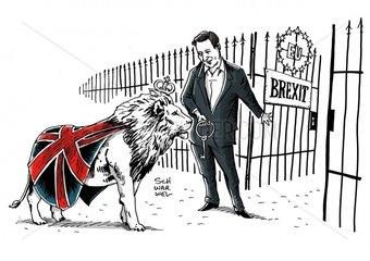David Cameron verspricht als britischer Wahlsieger EU-Referendum