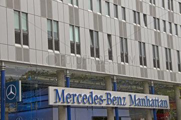Niederlassung von Mercedes-Benz  Manhattan  New York City  USA