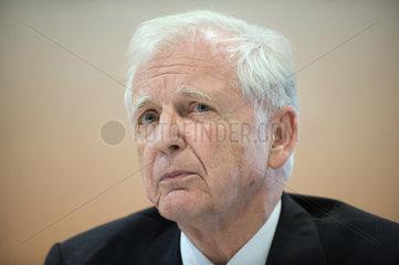 Berlin  Deutschland  Medizin-Nobelpreistraeger Harald zur Hausen