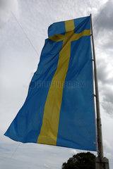 Hoppegarten  Deutschland  Nationalfahne von Schweden