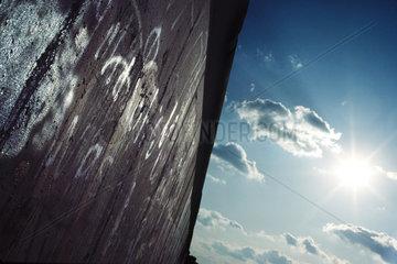 Berlin  Deutschland  Berliner Mauer in der Stresemannstrasse in Berlin-Kreuzberg