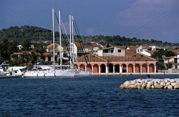 Kroatien  Nord-Dalmatien  Marina Tribunj
