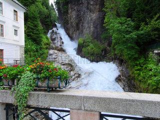 Bad Gasteiner Wasserfall Wahrzeichen von Bad Gastein