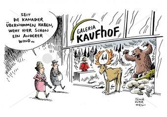 Kaufhof : Kanadische Firma uebernimmt die Warenhauskette