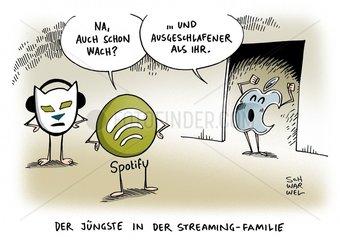 Apple Music: iPhone-Hersteller kuendigt eigene Streaming-Plattform an