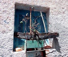 Blumenkasten Schiff Griechenland