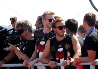 Weltmeister Empfang in Berlin