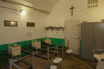 Schoenenbourg  Frankreich  Krankensaal im Artilleriewerk Schoenenbourg