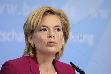 Julia Kloeckner - Pressekonferenz zum Thema: Trockenheit und Situation der Landwirtschaft