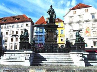 Erzherzog Johann Denkmal in Graz