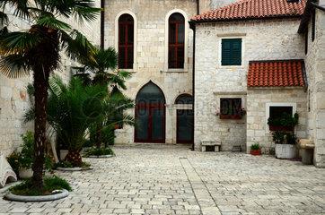 Altstadt von Sibenik in Kroatien