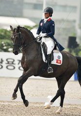 (SP)INDONESIA-JAKARTA-ASIAN GAMES-EQUESTRIAN-DRESSAGE INDIVIDUAL