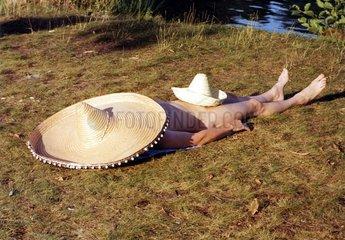 Sonnen mit 2 Sombrero