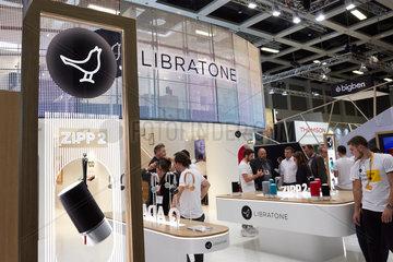 Berlin  Deutschland - Das daenische Unternehmen Libratone praesentiert seine Neuheiten auf der IFA 2018.