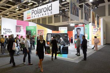 Berlin  Deutschland - Das Unternehmen Polaroid praesentiert sich auf der IFA 2018.
