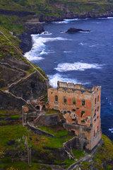 Ruine der Caasa Hamilton Teneriffa  Kanarische Inseln  Spanien