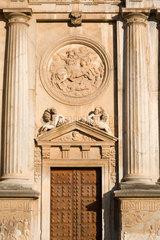 Granada  Spanien  Palast von Koenig Karl V.