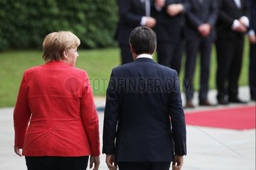 Angela Merkel und Giuseppe Conte
