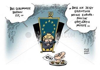 Griechenland : Europaeische Waehrungsunion nach dem griechischem Nein