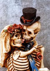 Hochzeitspaar Tod