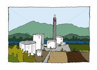 Waermekraftwerk Kraftwerk