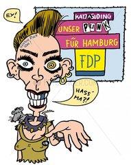 Katja Punk - Nach der Wahl ist vor der Wahl